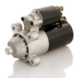 Automotive starter motor and solenoid