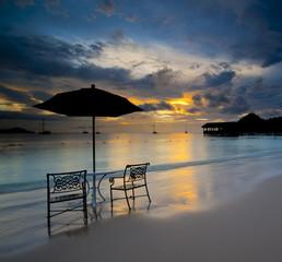 beach at St Lucia