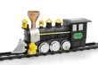 Toy steam train