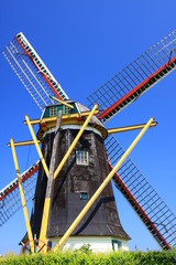 Windmühle in Zeeland