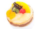 Low-calorie fruit cake poster