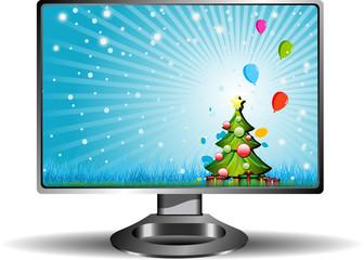 Vector TFT LCD monitor
