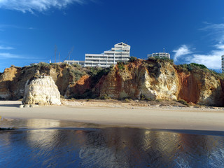 Portimao-resort on the Atlantic coast of the Algarve, Portugal
