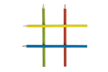 tic-tac-toe pencil board