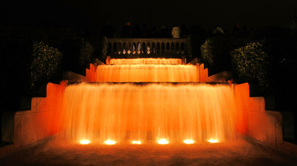 Magic fountain of Montjuic, detail