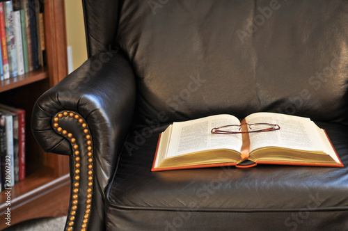 Book on Reading Chair