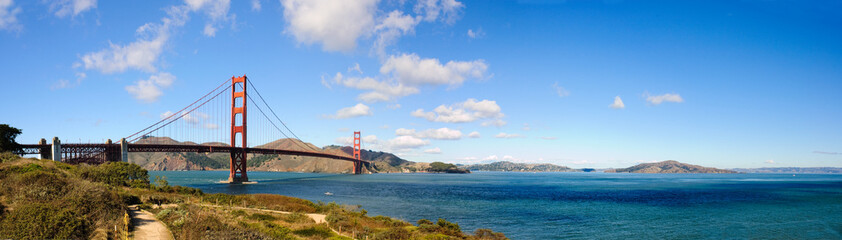 GoldenGate bridge and San Francisco Bay
