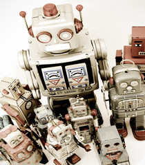 retro robots group