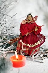 befana con candela