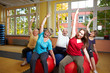 Rückensport im Fitnesscenter
