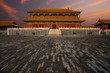 Sunrise Forbidden City Building Wet Floor
