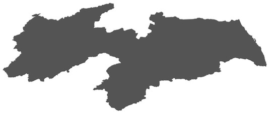 Karte von Paraiba - Brasilien