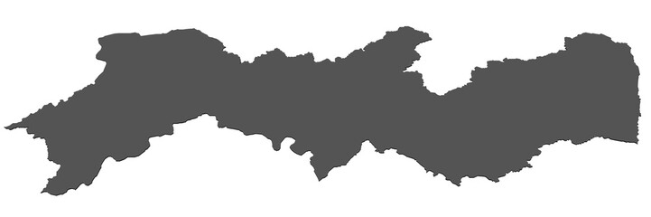Karte von Pernambuco