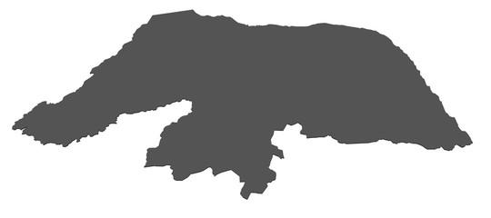 Karte von Rio Grande do Norte - Brasilien