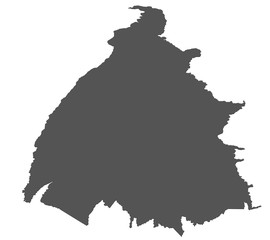 Karte von Tocantins - Brasilien