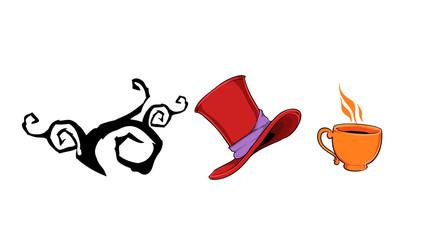 Mad hatter set