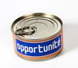 opportunité mot en boite conceptuelle