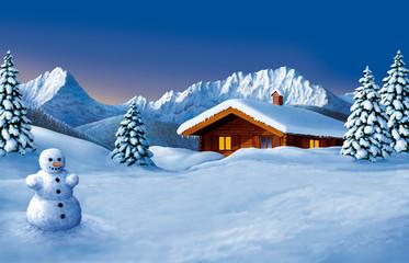Winterbildmotiv