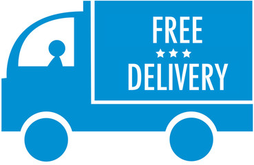 free delivery blue