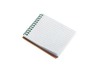 Writing pad.