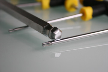 Werkzeug Ratsche / Nüsse