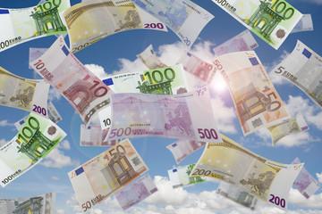 Geld vom Himmel
