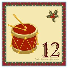 The 12 Days of Christmas - Twelve Drummers Drumming