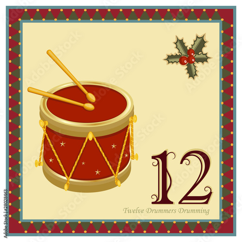 The 12 Days of Christmas - Twelve Drummers Drumming - 28028463