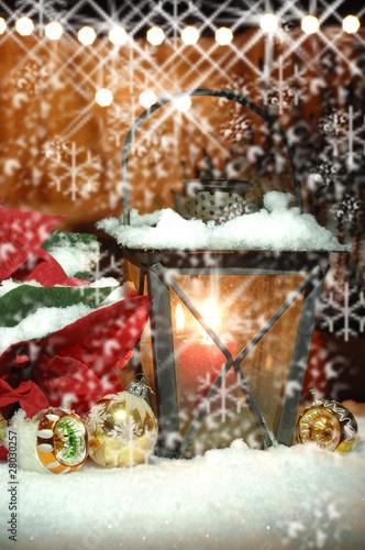 laterne im schnee weihnachten weihnachtsstern stockfotos und lizenzfreie bilder auf fotolia. Black Bedroom Furniture Sets. Home Design Ideas