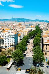 La Rambla of Barcelona, Spain