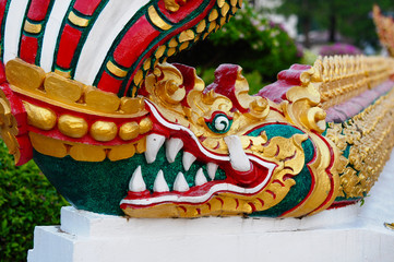 Thai dragon or king of Naga