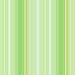Green striped abstract background, variable width stripes