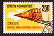 Turkish Stamp Regional Cooperation Turkey Iran Railroad Link
