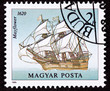 Hungary Postage Stamp Mayflower Sailing Ship Pilgrams New World