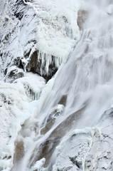 Shannon falls in winter