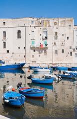 Monopoli tourist port. Apulia.