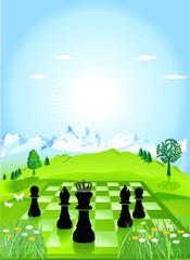 Schach Perspektive
