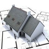Detached house project poster