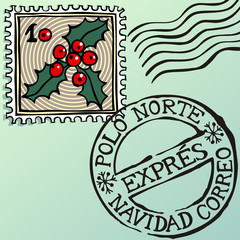 Navidad estampillas, Spanish Christmas stamps