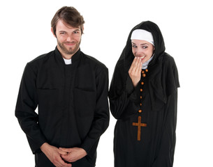 Fun Priest and Nun