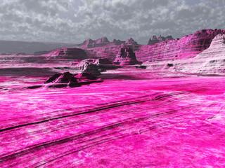 tierras rosas