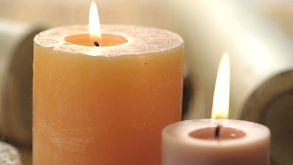 Burning Candles; HD 720, H 264
