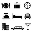 travel service icons
