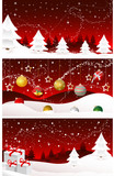 Christmas banners, cards, merry christmas, new year