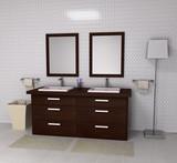 Fototapety Luxury Family Bathroom