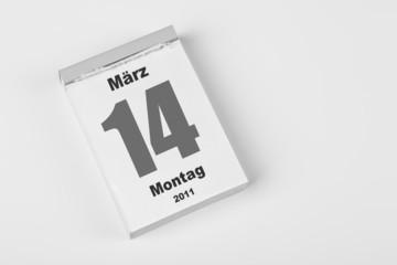 14 März