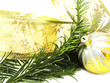 Christmas  pine and bauble