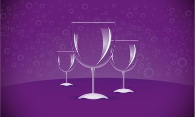 Three WineGlasses