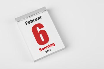 6 Februar