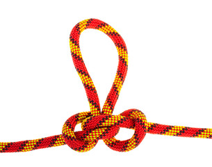 Set of rope knots